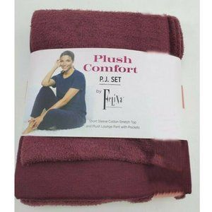 Felina 2Pc Plush Comfort P.J.Set